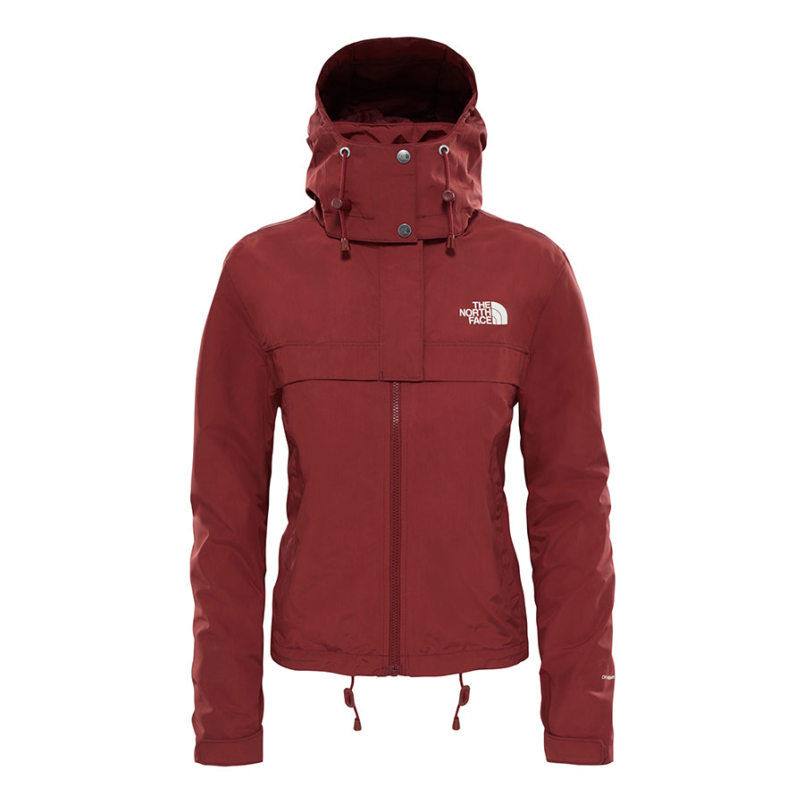 Cagoule Short Rosso The Face North Deporvillage Donna Giacca nxfqHSwa