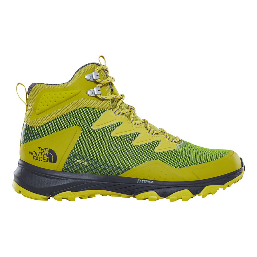 62e44f1561 Scarpe The North Face Ultra Fastpack III Mid GTX verde citronella ...